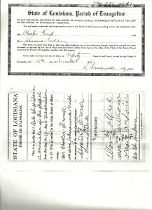 Chester Frank_Joanna Denton marriage pg1