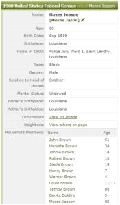 Moses Jason 1900 Census