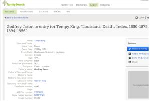 Tempy Jason Death entry
