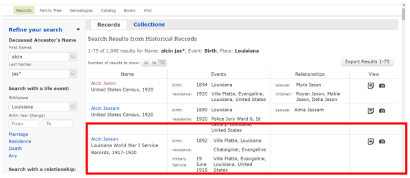 familysearch March 2017 Alcin_Jas highlight