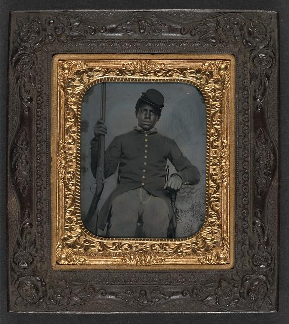Unidentified Civil war soldier3
